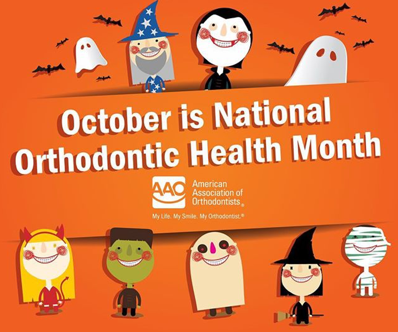 National Orthodontic Health Month!