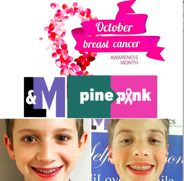 L&M Orthodontics Partners with Pine2Pink for Breast Cancer Awareness Month!